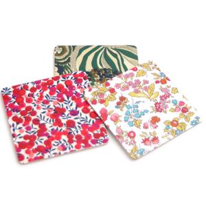 Glasunderlägg Fyrkantig 'Floral' Blandpack
