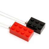 Halsband Byggkloss Singel färg