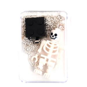 Halsband Byggkloss Skelett