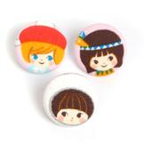 Liten Pin 'Happy' 3-pack